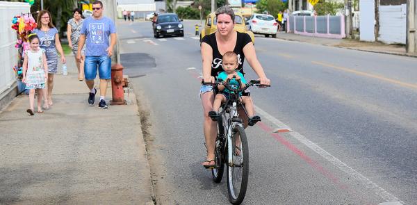 Bicicleta como transporte em Jaraguá do Sul (SC)