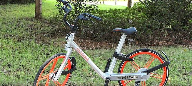 Bicicleta da Mobike em Guangzhou, China