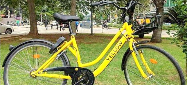 Bicicleta da Yellow: semelhanças com a chinesa Ofo