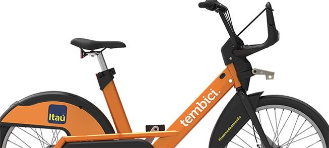 Bicicleta do Bike Sampa