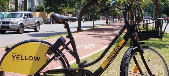 Bicicleta elétrica da Yellow: velocidade máxima de