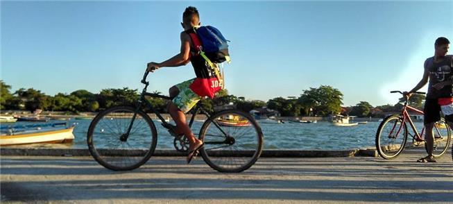 Bicicleta já é transporte no Brasil; só falta mais
