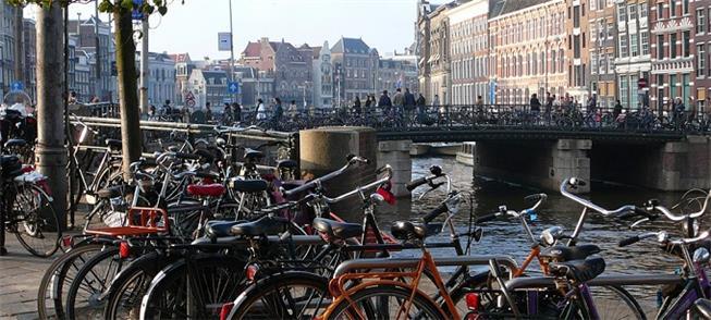 Bicicleta, principal meio de transporte da cidade
