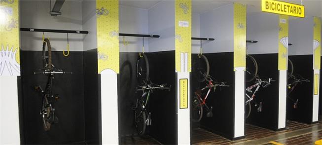 Bicicletário atenderá a servidores do Palácio do B