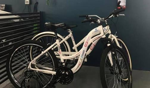 Bicicletas, à disposição dos clientes em Santa Ros