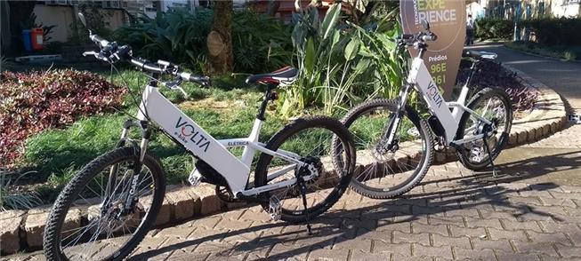 Bicicletas elétricas foram testadas em 2018 pela P