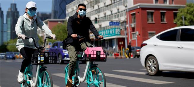 Bicicletas públicas: opção em cidades chinesas