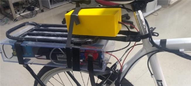 Bike com recarga de 3 minutos e autonomia de 2 km