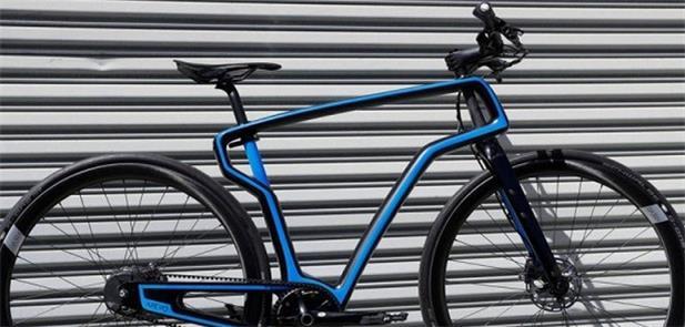 Bike de fibra de carbono da Arevo feita por impres