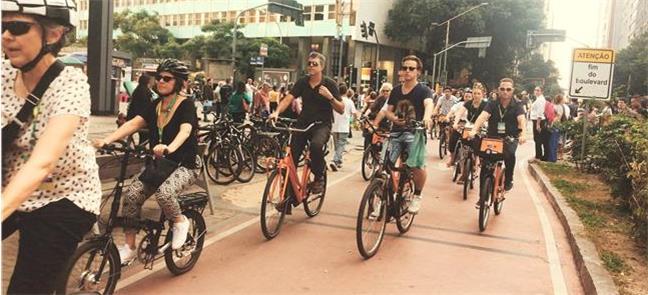 Bike Parade, uma das atrações do Velo-City 2018