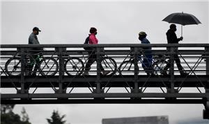 Bogotá e a Covid-19: cidade fez mais 80 km de cicl