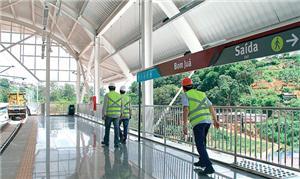 Bom Juá será a sexta estação do metrô