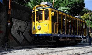 Bondinho de Santa Teresa, no Rio
