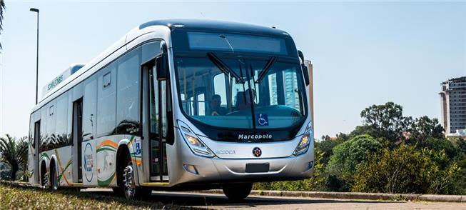 Brasil começa a produzir ônibus movido a biometano