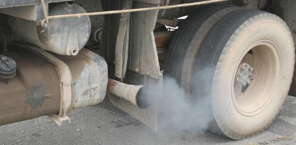 Brasil: maiores concentrações de particulados e fr