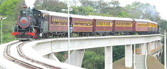 Brasil tem atualmente 33 trens turísticos em opera