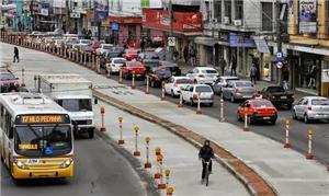 BRT de Porto Alegre: uma das obras que não saem a