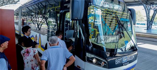 BRT em Belém: ainda não inteiramente implantado