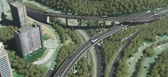 BRT prevê 3 viadutos, 2 elevados e corte de árvore