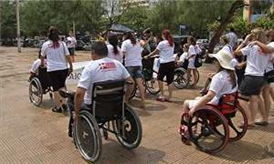 Cadeirantes fazem mobilização por acessibilidade