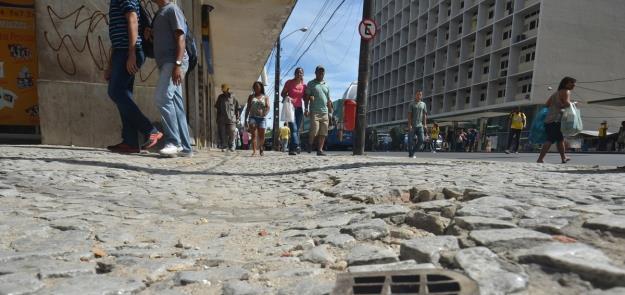 Calçada em Recife