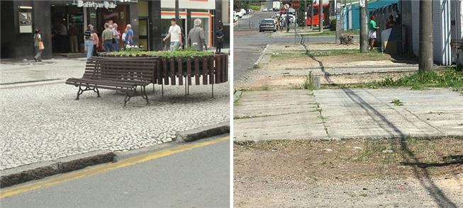 Calçadas de Curitiba
