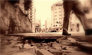 Calçadas esburacadas: descuido do poder público