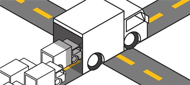 Caminhões poluentes X pequenos veículos elétricos