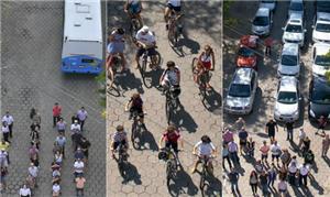 Campanha compara meios de transportes utilizados n