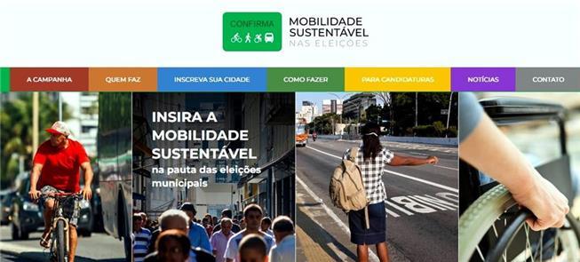 Campanha Mobilidade Sustentável nas Eleições