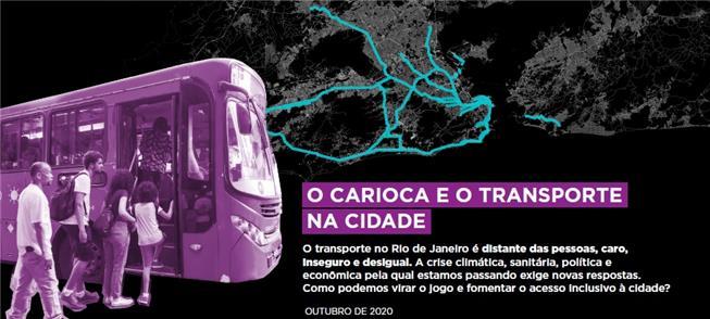 Capa do estudo do ITDP Brasil e Casa Fluminense