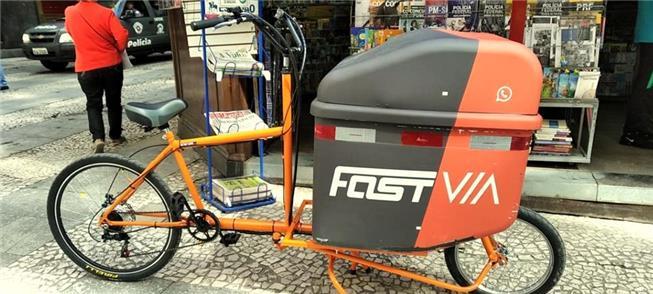 Cargobike fabricada no Brasil