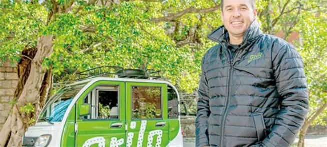 Carlos Novaes, cofundador da Grilo Mobilidade