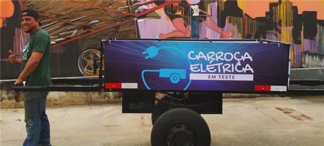Carroça elétrica: sustentável e preserva a saúde d