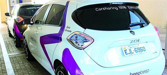 Carros: modelo ZOE, da marca Renault