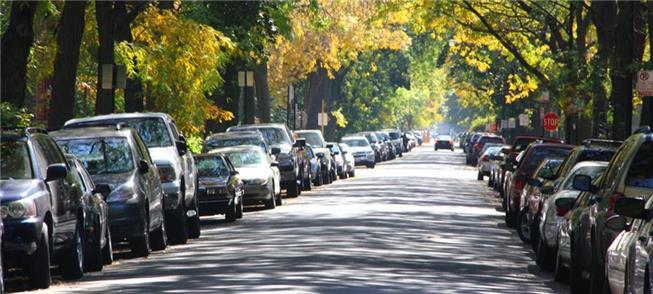 Carros ocupam todos os espaços: São cerca de 11 m2