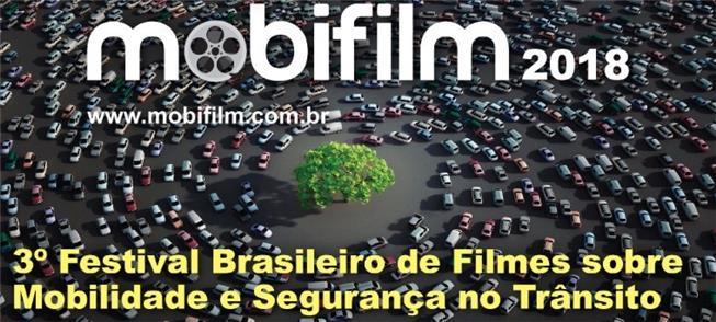 Cartaz do 3º Mobifilm, em São Paulo