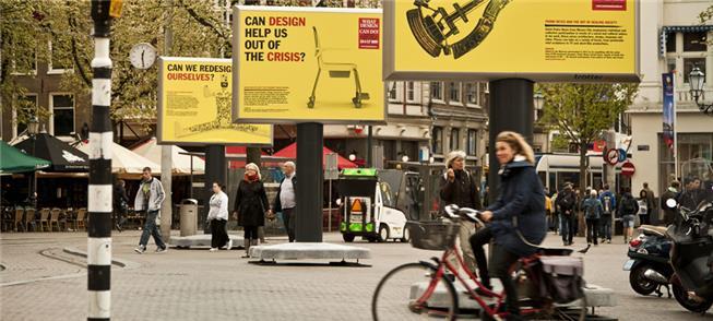 Cartazes do evento WDCD em Amsterdã, 2013