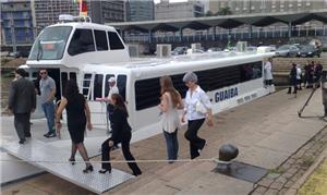 Catamarã em POA: boa convivência com transporte pú