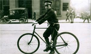 Cem anos atrás, as bikes já eram usadas para entre
