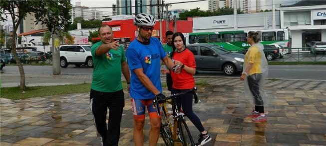 Ciclista chega primeiro no desafio de 2016 em Soro