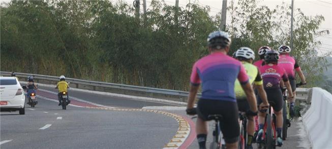 Ciclistas de Marabá (PA) ganham faixa exclusiva na