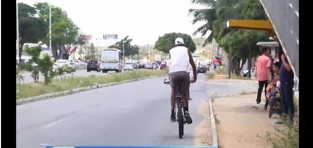 Ciclistas de Natal (RN) cobram ciclovia na BR-101
