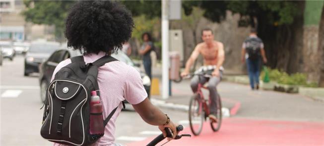 Ciclistas em Niteroi (RJ)