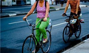 Ciclistas em São Paulo