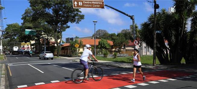 Ciclistas fizeram estudos e contagens não usados n