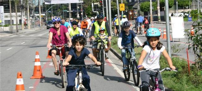 Ciclofaixa de lazer, incentivo ao uso da bicicleta