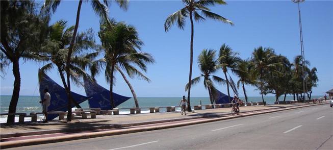 Ciclofaixa em Recife