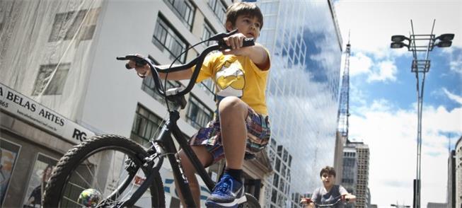 Ciclofaixas de lazer: iniciação para muitos ciclis