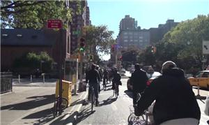 Ciclovia em Nova York